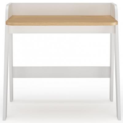 Temahome Fiore Oak and White Writing Desk