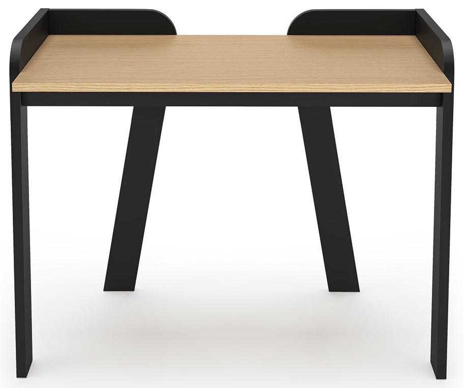 Temahome Maya Oak and Black Office Desk