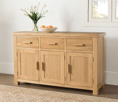 Cambridge Oak Large Sideboard