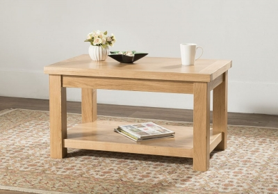 Cambridge Oak Standard Coffee Table