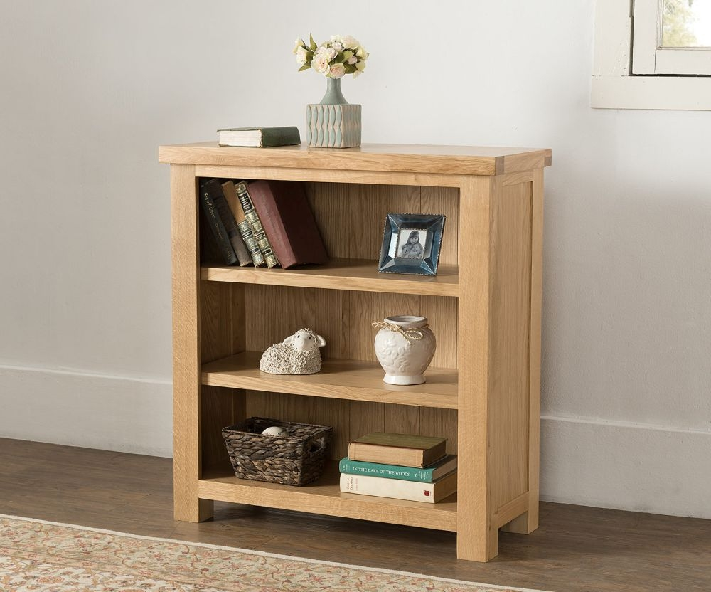 Cambridge Oak Low Bookcase