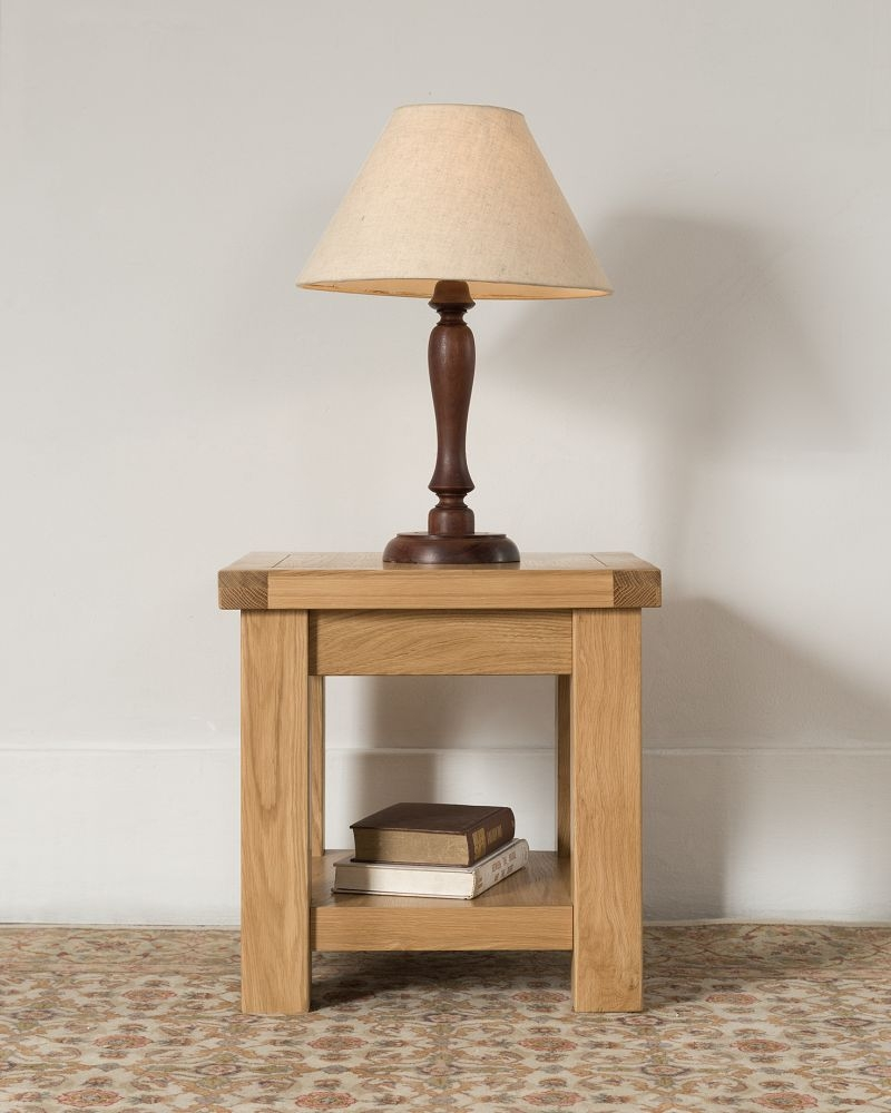 Cambridge Oak Side Table