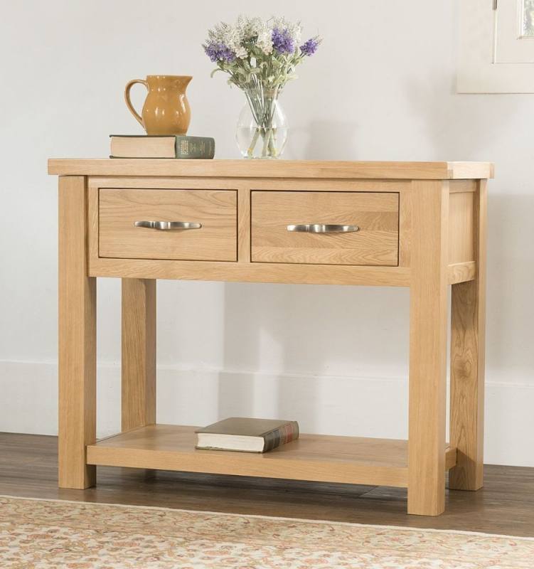 Cambridge Oak Console Table