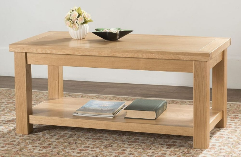 Cambridge Oak Large Coffee Table