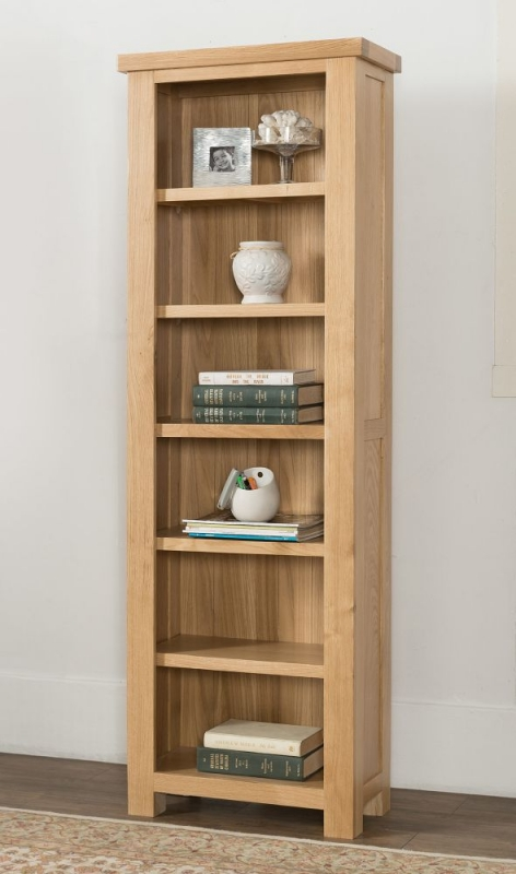 Cambridge Oak Tall Bookcase