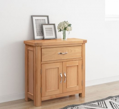 Clarion Oak Compact Sideboard