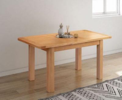 Clarion Oak Extending Dining Table