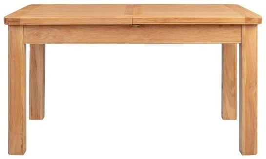 Clarion Oak Butterfly Extending Dining Table