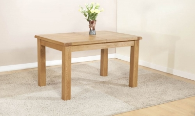 Dorset Oak Large Extending Dining Table