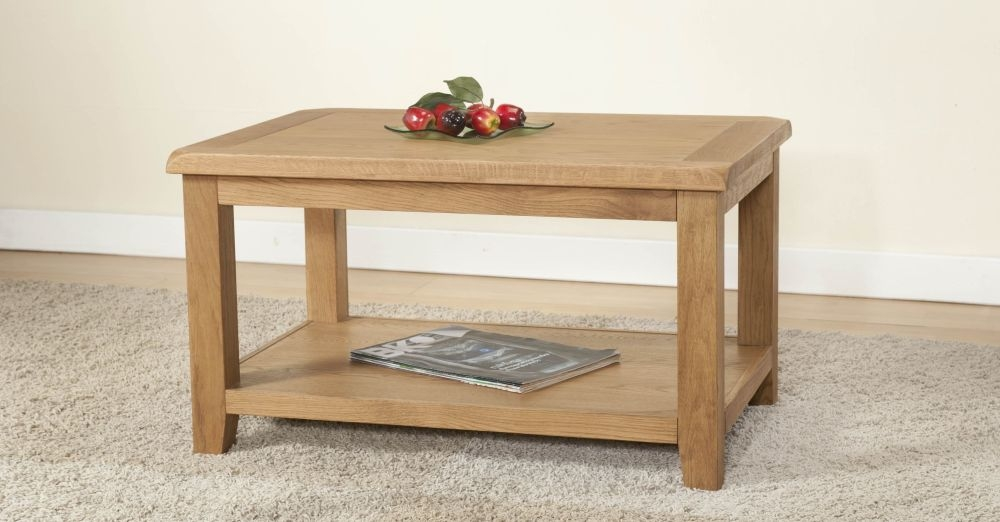 Dorset Oak Coffee Table