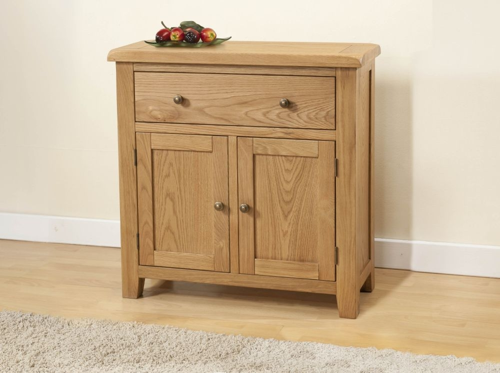 Dorset Oak Small Sideboard