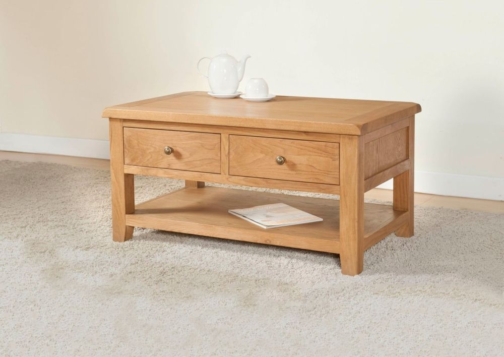 Dorset Oak Storage Coffee Table