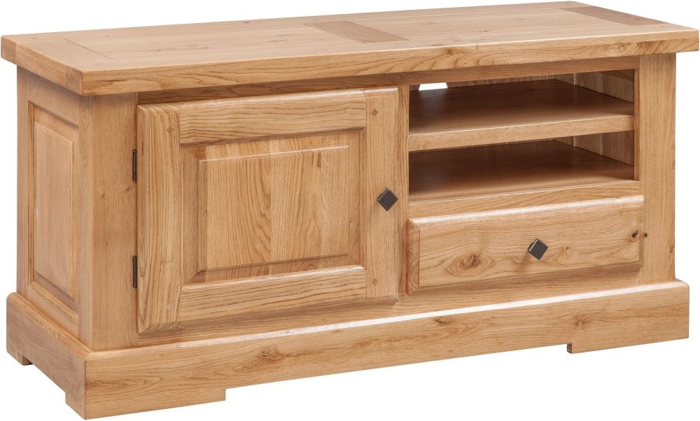 Fairford Oak TV Unit