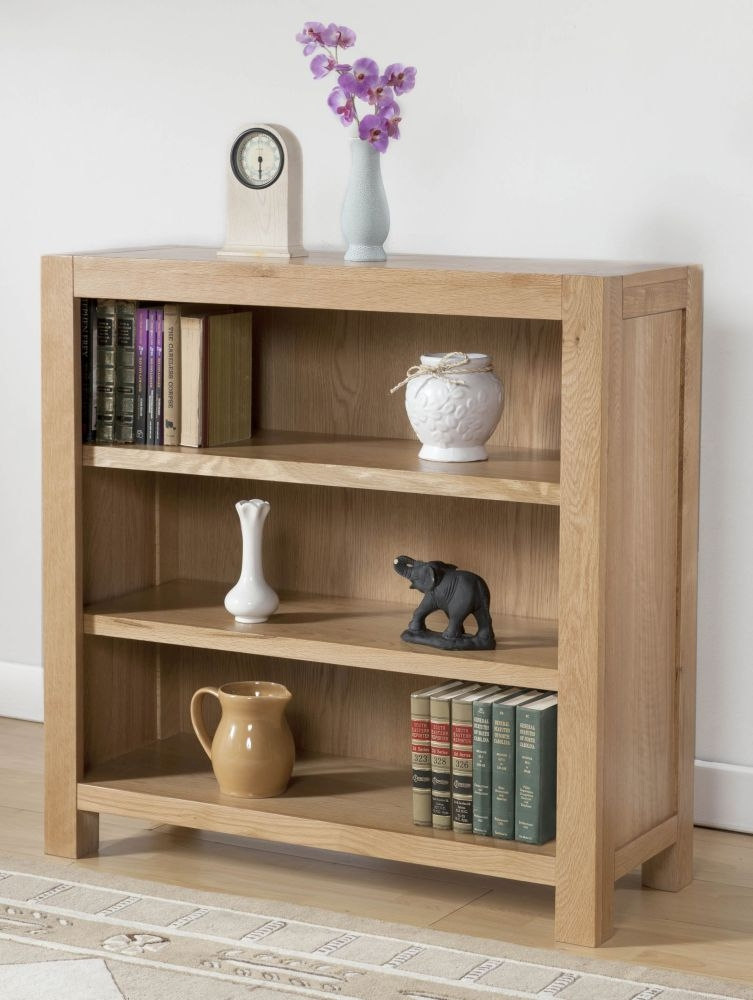 Milano Oak Bookcase