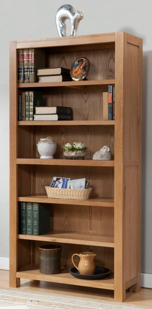 Milano Oak Large Bookcase