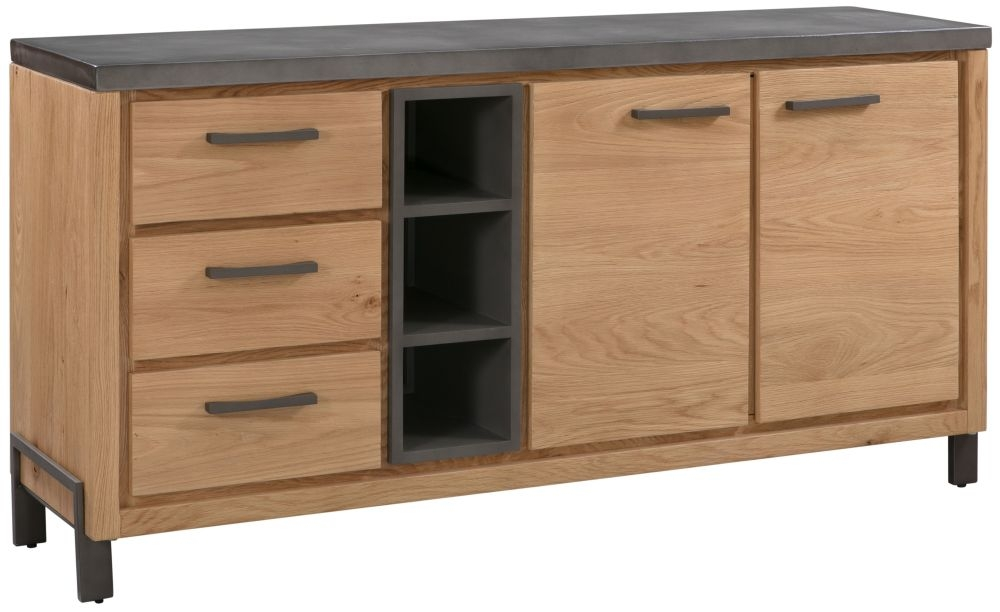 Pergo Industrial Weathered Oak Large Sideboard
