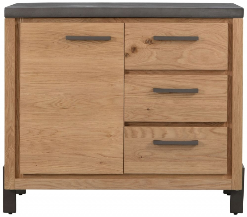Pergo Industrial Weathered Oak Small Sideboard