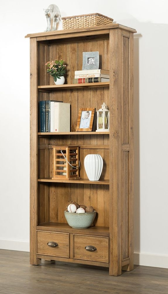 Rustica Oak Bookcase