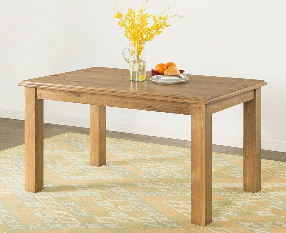 Rustica Oak Dining Table