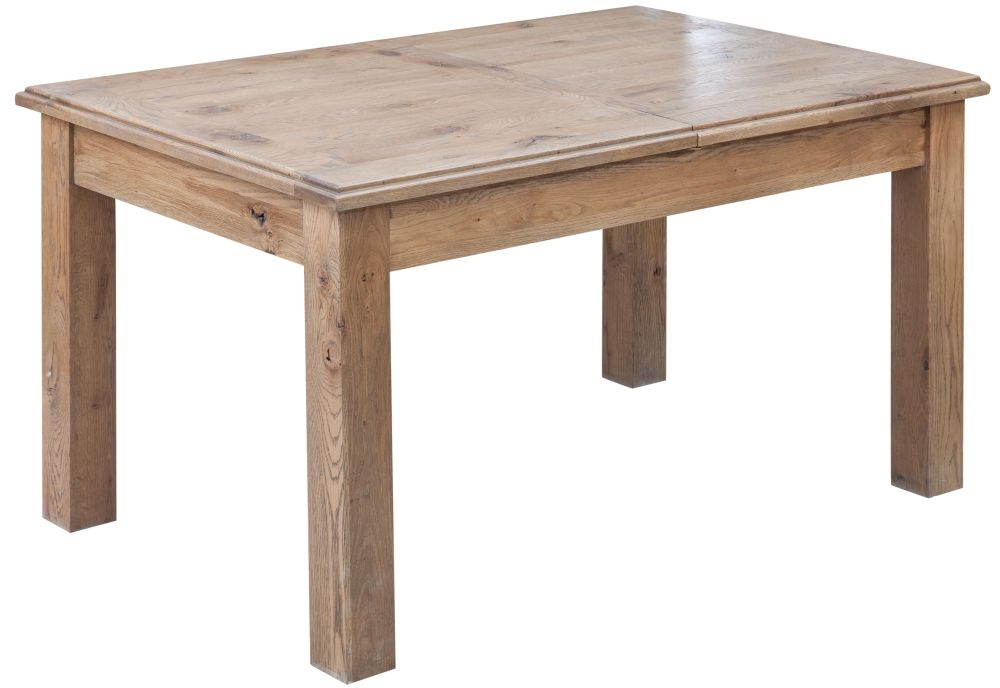 Rustica Oak Extending Dining Table