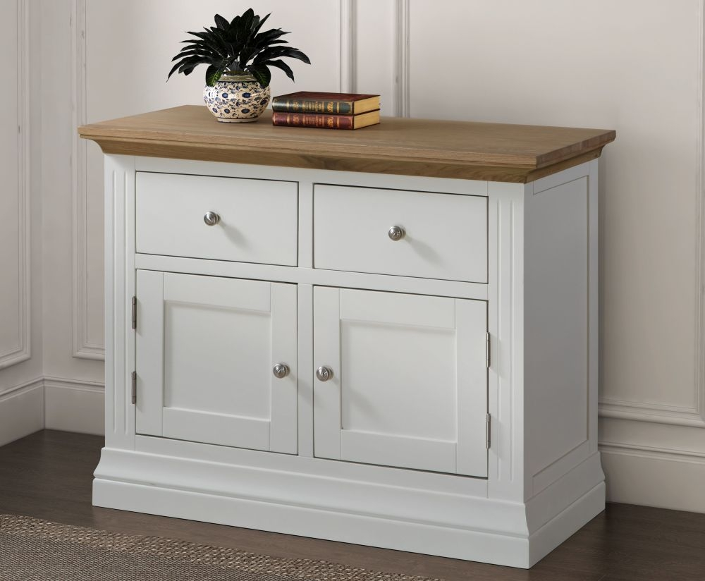 Sandringham Sideboard - Oak and White Painted
