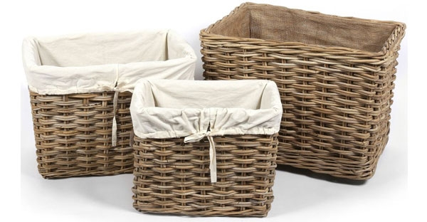 The Wicker Merchant Laundry and Log Baskets
