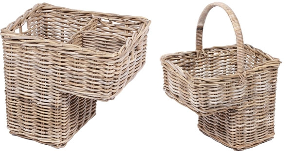 The Wicker Merchant Step Baskets