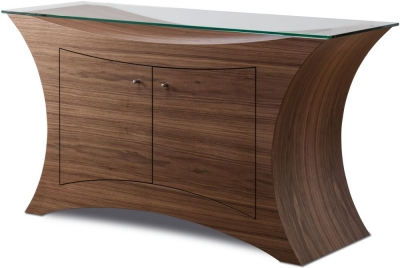 Tom Schneider Atlas Glass Top Sideboard