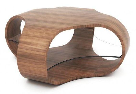 Tom Schneider Cornerless Quad Coffee Table