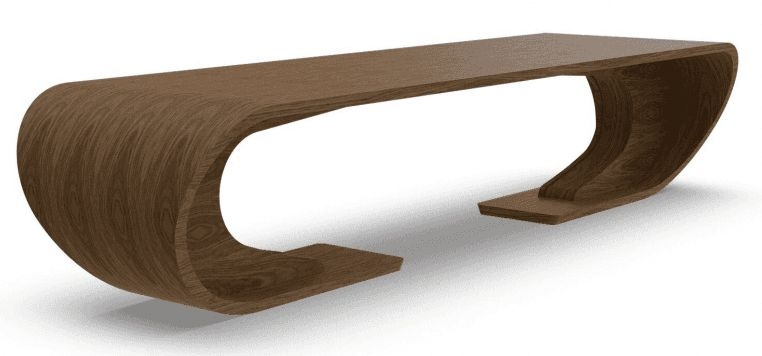 Tom Schneider Crest Double Dining Table