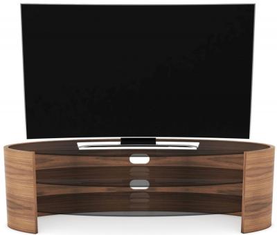 Tom Schneider Ellipse Glass Top Large TV Unit