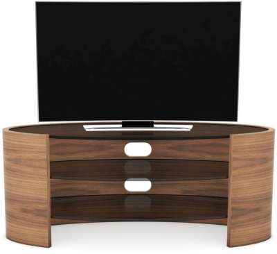 Tom Schneider Ellipse Glass Top Medium TV Unit