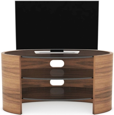 Tom Schneider Ellipse Glass Top Small TV Unit