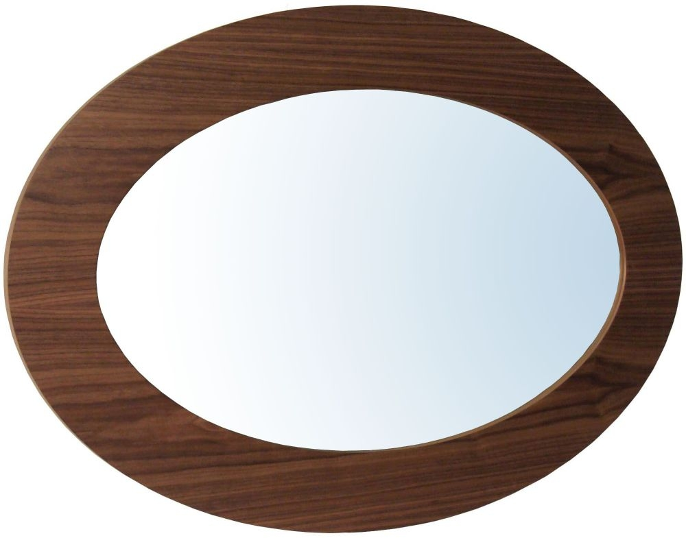 Tom Schneider Ellipse Wall Mirror - 95cm x 65cm