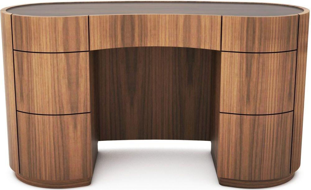 Tom Schneider Swirl Glass Top Desk
