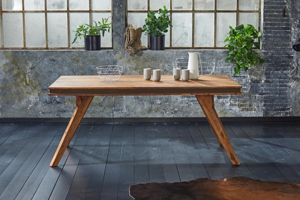 GRANDE Sheesham Wood Rectangular Dining Table 180cm