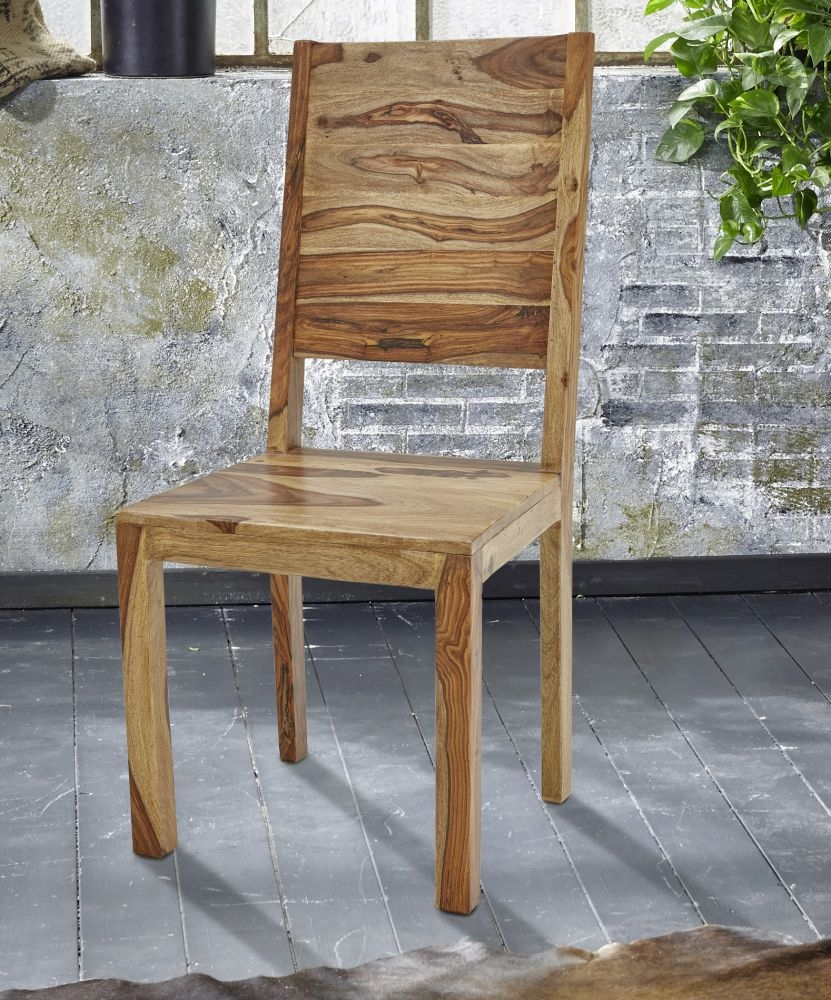 Guru Sheesham Dining Chair (Pair)