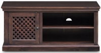Jali Sheesham Wood 1 Door TV Unit