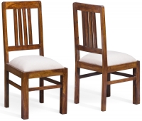 Jali Sheesham Wood Dining Chair (Pair)