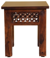 Wood Jali Sheesham Lamp Table