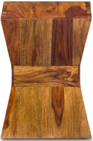 Jali Sheesham Wood Square Lamp Table
