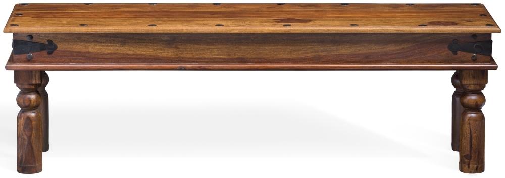 Jali Sheesham Wood Dining Bench