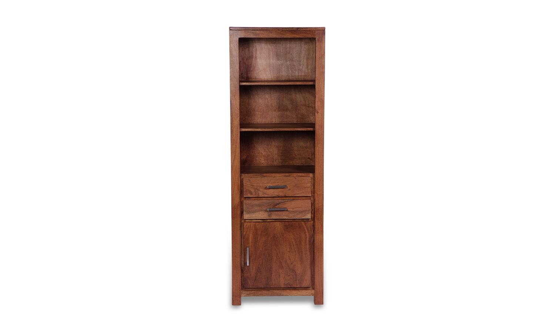 Java Acacia 2 Door 2 Drawer Bookcase
