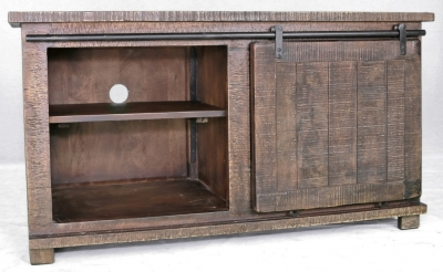 Urban Deco Shabby Chic Dark Distressed Medium TV Unit