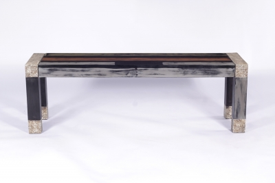 URBAN Vintage Shabby Chic Large Dining Bench