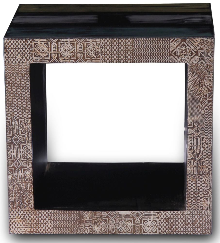 URBAN Vintage Shabby Chic Room Divider Cube