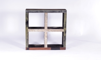 URBAN Vintage Shabby Chic 4 Compartments Room Divider Cube