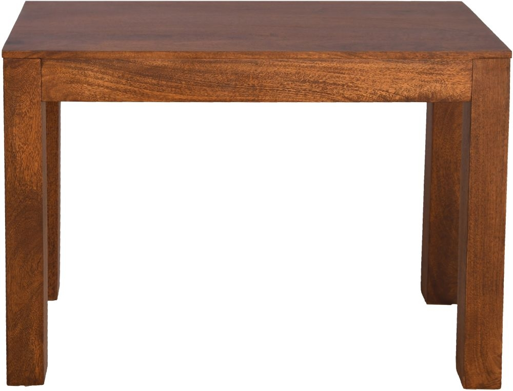 Urban Deco Dakota Dark Mango Wood Console Table