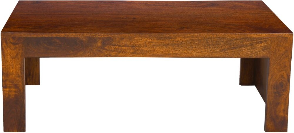 Urban Deco Dakota Dark Mango Wood Coffee Table