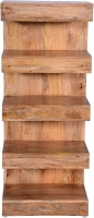 Urban Deco Dakota Light Mango Rustic Open Display Unit